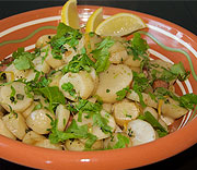 French jerusalem artichoke salad
