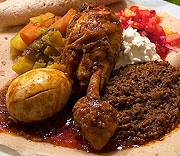 Eld och trasa - Injera wat