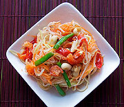 Som Tam - thailndsk sallad p grn papaya